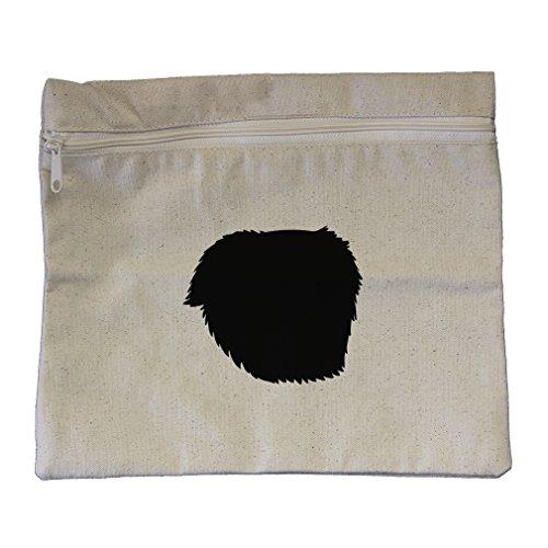 Canvas Pouch Zipper Tote Bag 12
