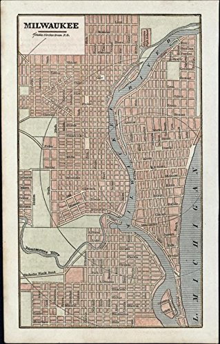 milwaukee-wisconsin-1854-early-city-plan-charming-old-map-hand-color-scarce