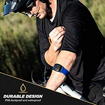 Rhythm+2.0 Waterproof Heart Rate Monitor Armband Optical Heart Rate Armband Monitor with Dual Band Radio ANT 2nd Generation and Bluetooth Smart