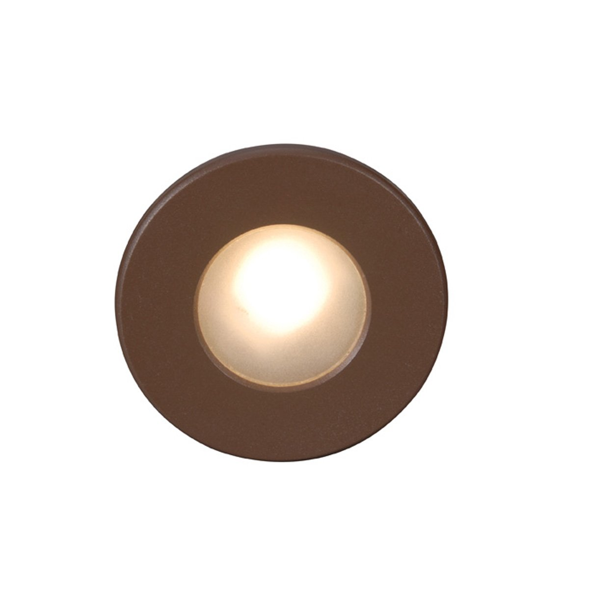 WAC Lighting WL-LED310-C-BZ LED Step Light Circular Face by WAC Lighting