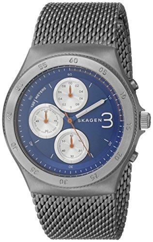 Skagen Titanium Bracelet - Skagen Men's SKW6154 Jannik Stainless Steel Watch with Mesh Bracelet