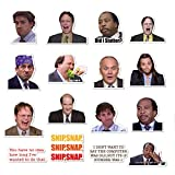 The Office Stickers Pack of 50 Stickers - The