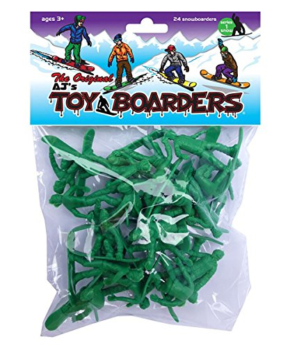 Mindtwister USA AJ's Toy Boarders Snowboard Series 1 Action Figures, Original (Series Snowboard)