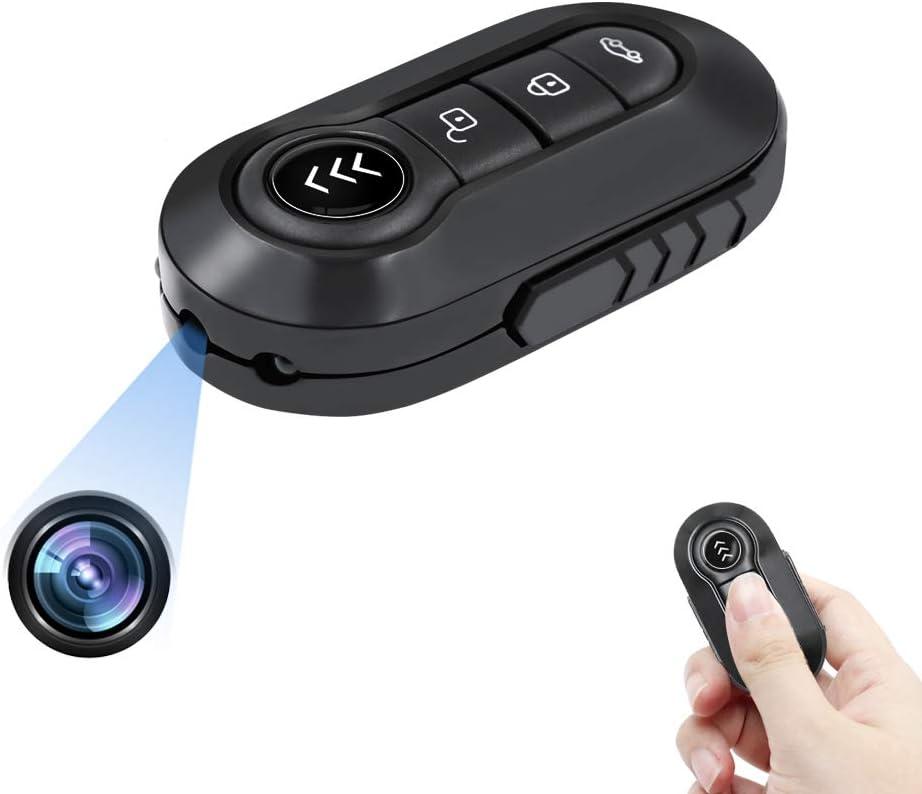 Lxmimi Spionagekamera In Form Eines Autoschlüssels 1080p Hd Ir Nachtsicht Bewegungserkennung Audio Modus Für Innen Und Außen Mit Schlaufe Baumarkt