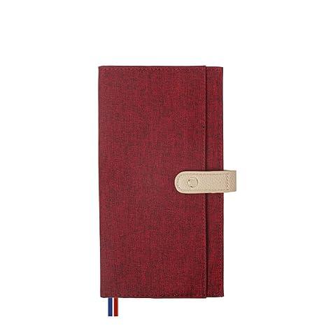 ZHIFU Manual de Viajero Bloc de Notas Planificador de Agenda ...