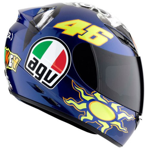 AGV K3 The Donkey Full Face Motorcycle Helmet (Multicolor, Small)