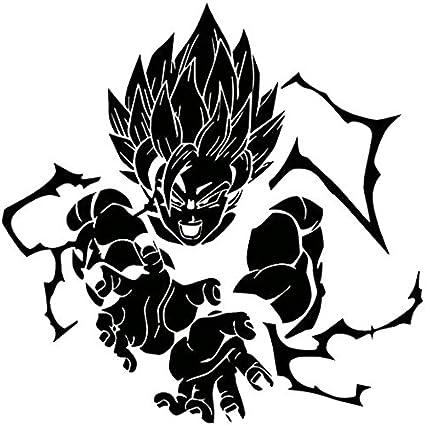 Dbz dragon ball z super saiyan goku black 6 inch die cut vinyl