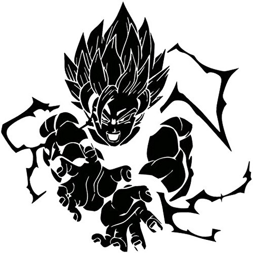 dragon ball car decal - 4