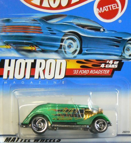 Hot Wheels 33 Ford Roadster Hot Rod Magazine #4 of 4 2000/008 ()