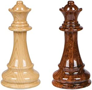 Extra Queens Only (for use with Abigail Chess Inlaid Wood Folding Board Game with Pieces - 21 Inch Set)