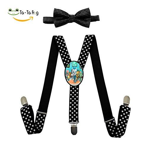 Peso Octonaut Costume (Octonauts Fashion Kids Boys Girls Suspender Unisex Elastic Adjustable Suspender Y-Back Suspenders)