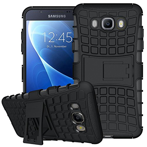 J7 Case,Galaxy J7 Case(2016 Version),K-Xiang(Armor Series) Heavy Duty Protection Hybrid Shockproof Dual Layer Protective Case Cover With Stand for Samsung Galaxy J7 (J7(2016) - Phone Spot