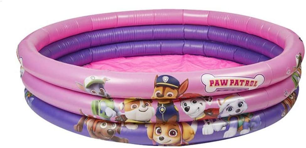 100 cm Paw Patrol 3-Ring Pool in rosa f/ür M/ädchen Planschbecken ca Aufblaspool