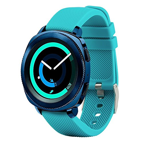 For Samsung Gear Sport Band Samsung Gear 2 Classic Watch bands Vivoactive Bands for Garmin Vivoactive 3 Huawei Watch 2 Wristbands Silicone Universal 20mm Quick Release Watch Bands for Women and Men