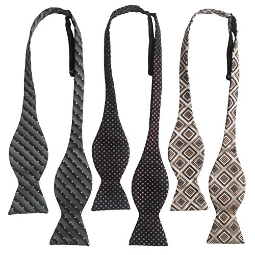 Handmade Ravenhill Self Tied Bow Ties 3 Pack (Lattice)
