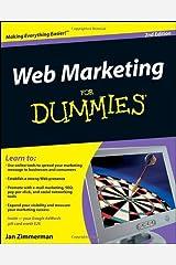 Web Marketing For Dummies by Jan Zimmerman (2008-12-10) Paperback