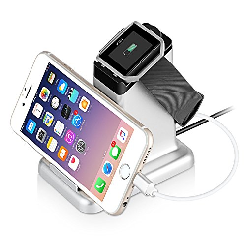 Fitbit Blaze Charger, MixMart 2 in 1 Charging Stand Station for Fitbit Blaze and