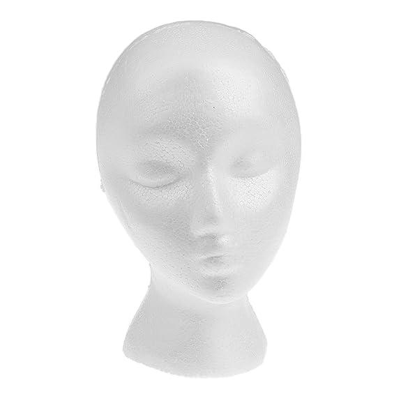 Sharplace Mannequin de Perruque, Porte-chapeau Porte-lunettes Accessoire  Présentation, Modèle Femme Visage Présentoir  Amazon.fr  Bijoux 0f1291bad14f