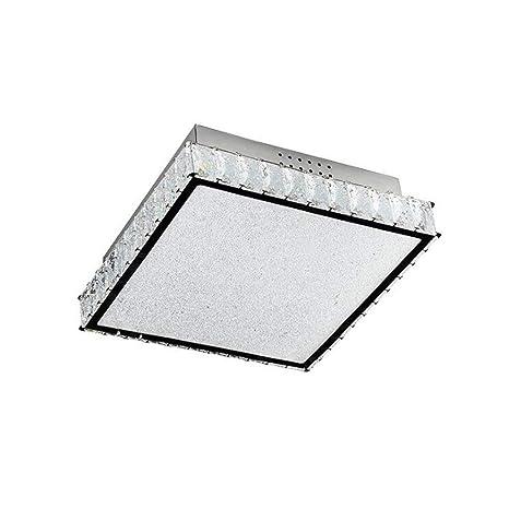 GJX - Lámpara LED de Techo, Paper24 Planas Cristal plafón ...