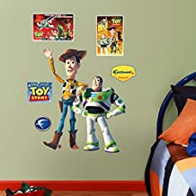 Fathead 15-15991 Wall Decal, Woody and Buzz Lightyear, Fathead