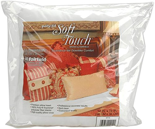 Fairfield ST14S Soft Touch Down-Like Pillowform, 14 by 14-Inch by Fairfield
