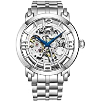Stuhrling Original Men's 165B2B.33112 Winchester 44 Elite Analog Automatic Self Wind Silver Stainless Steel Watch