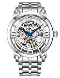 Stuhrling Original Men's 165B2B.334414 Classic Winchester 44 Elite Automatic Skeleton Rose Tone Watch