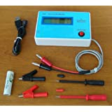 Cyana Capacitor / Capacitance ESR/DCR IN-Circuit Inductance Resistance Meter + Clip
