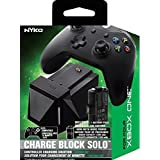 Nyko Charge Block Solo - Controller Charging Station with Rechargeable Battery, Cover and included Micro-USB/AC Power Cord fo