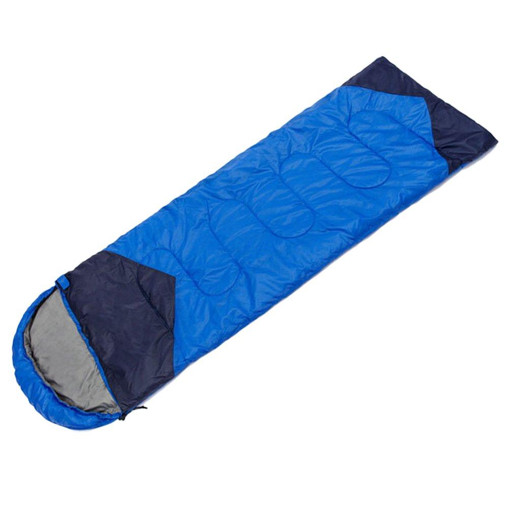 Zhhlaixing Outdoor Sleeping Bag Single Adult Hiking Camping Suit Case Envelope Waterproof Zip Bag