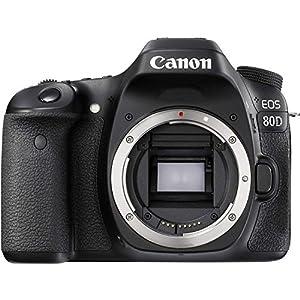 Canon EOS 80D DSLR (Body) Video Creator Kit w/ Rode VIDEOMIC GO, 32GB Card, Canon 100ES DSLR Bag + Bundle from Focus Camera