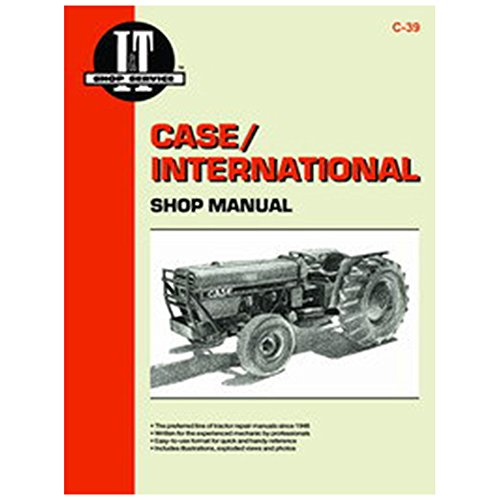 C39 SMC39 New Shop Manual Made for Case-IH Tractor Models 385 485 585 685 885 - Ih Shop Manual