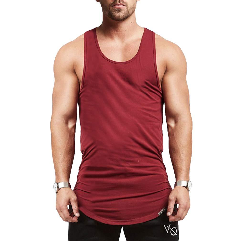 JiXuan Uomo Sleeveless Vest Uomo Canotte Abbigliamento Bodybuilding Canotta Fitness Fitness Canotte Tops Tees