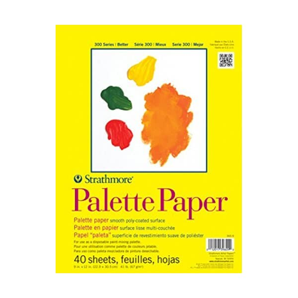 Strathmore-365-9-300-Series-Palette-Pad-9×12-Tape-Bound-40-Sheets