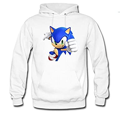 2830ecb13 adult Unisex Custom sonic Classic Hoodie at Amazon Men's Clothing store: