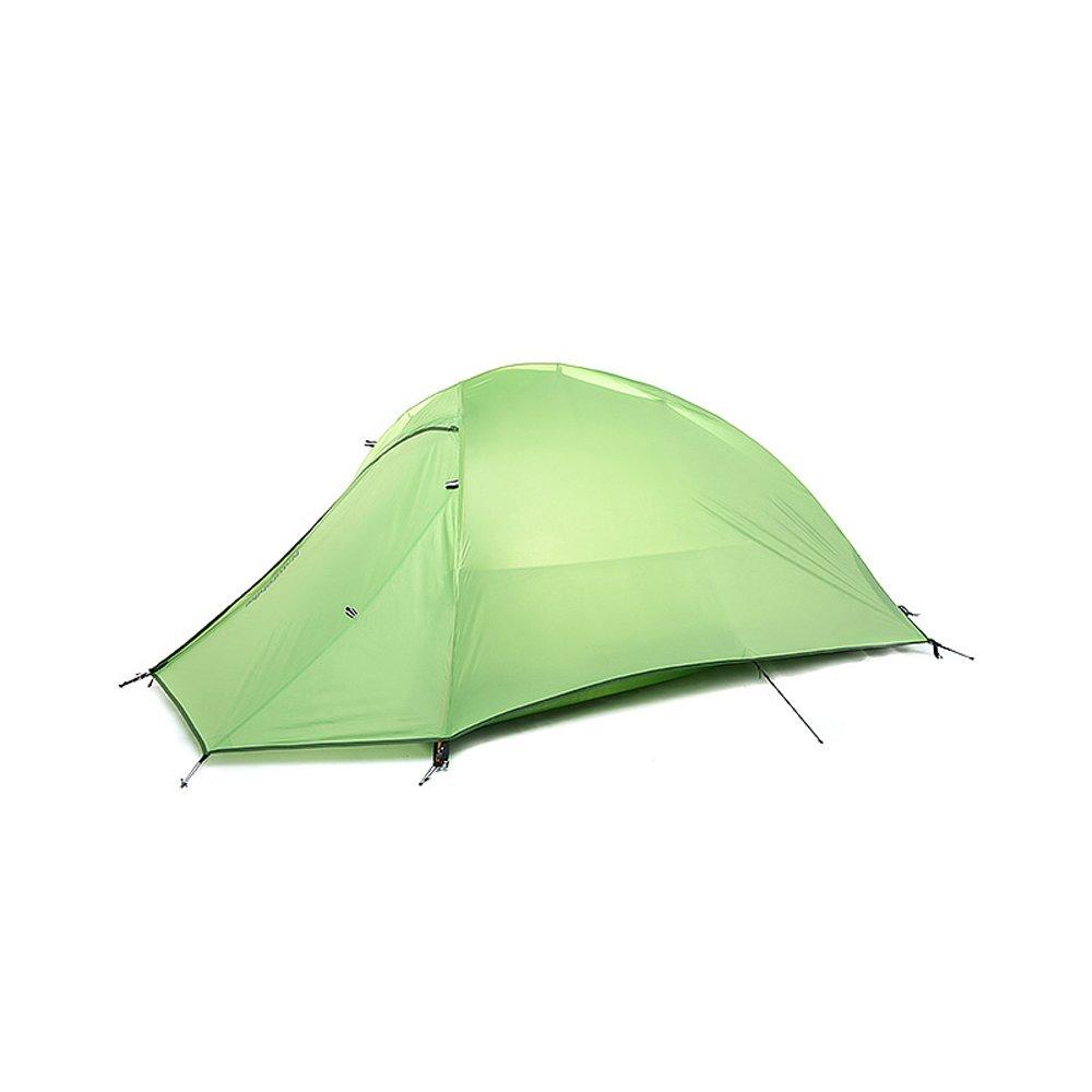 IBasingo Naturehike Cloud up 1 Person Zelt Doppelschicht Camping Freien Zelt im Freien Camping Ultraleicht Portable 4 Jahreszeiten Zelt Wasserdichtes Camp Zelt für Rucksackreisen Reisen Wandern 755333