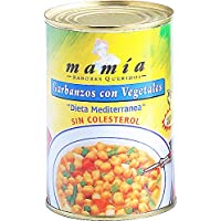 Garbanzos Con Vegetales L Mamia 425 Ml