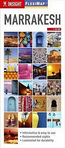 Insight Guides Flexi Map Marrakesh (Insight Flexi Maps)