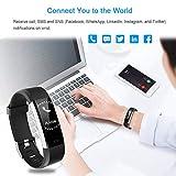 LETSCOM Fitness Tracker HR, Activity Tracker Watch