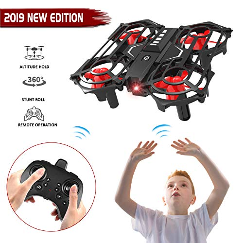 Gifts for 5-12 Year Old Boys Girls Seckton Mini Drone for Kids Remote Control Helicopter RC Flying Toy Quadcopter Indoor Outdoor Games Children Gifts