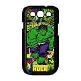 FEEL.Q- Marvel Avengers Superhero The Incredible Hulk Personalized Samsung Galaxy S3 i9300 Hard Snap-On Plastic Case Cover