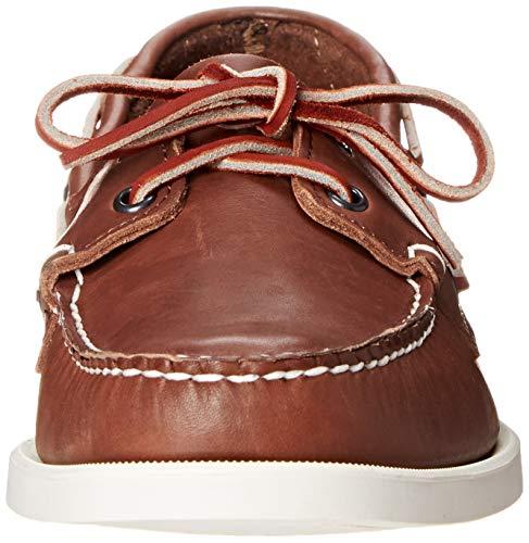 3e757eef63547 SHOPUS | Sebago Men's Brown Leather Docksides Boat Shoe - 10 D(M) US