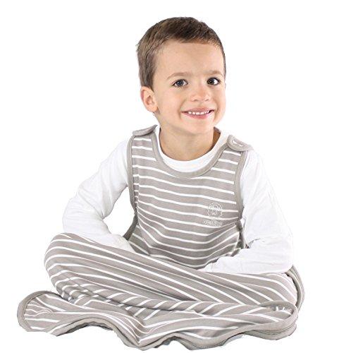 Woolino Toddler Sleeping Bag, 4 Season Merino Wool Baby Sleep Bag or Sack, 2-4 Years, Earth by Woolino (Image #3)