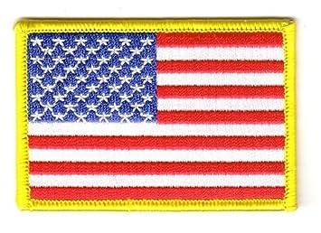 Flaggen Aufnher Patch USA Fahne Flagge NEU Amazonde Sport