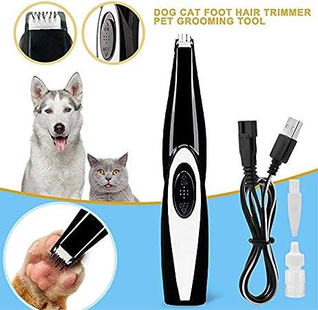CWBB Podadoras de Pelo del Pelo del Animal dom/éstico Hundeprofi cizallamiento Perro m/áquina podadoras los Mascotas Timmer con 4 Accesorios