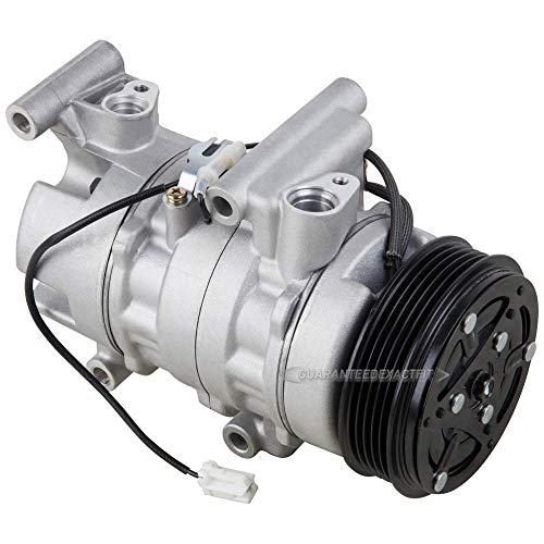 New AC Compressor & A/C Clutch For Mazda 3 Non-Turbo 2006 2007 2008 2009 - BuyAutoParts 60-04567NA New