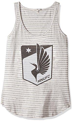 - MLS Minnesota Women's Tank Top, Medium, Sun/Grey