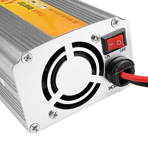 JenNiFer SGR-NX1012 Car Auto Power Inverter Converter Adapter 100W DC12V to AC220V Output