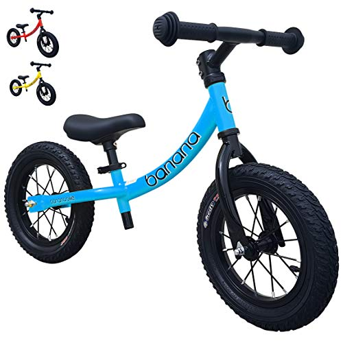 Banana Bike GT - Balance Bike for Kids (Candy Blue)