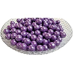 Mini Glimmer Gumballs 0.5 Inch (Purple, 2 Pounds)